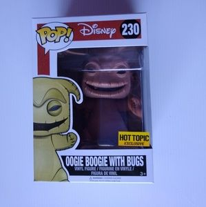 Funko Pop Disney oogie boogie with bugs